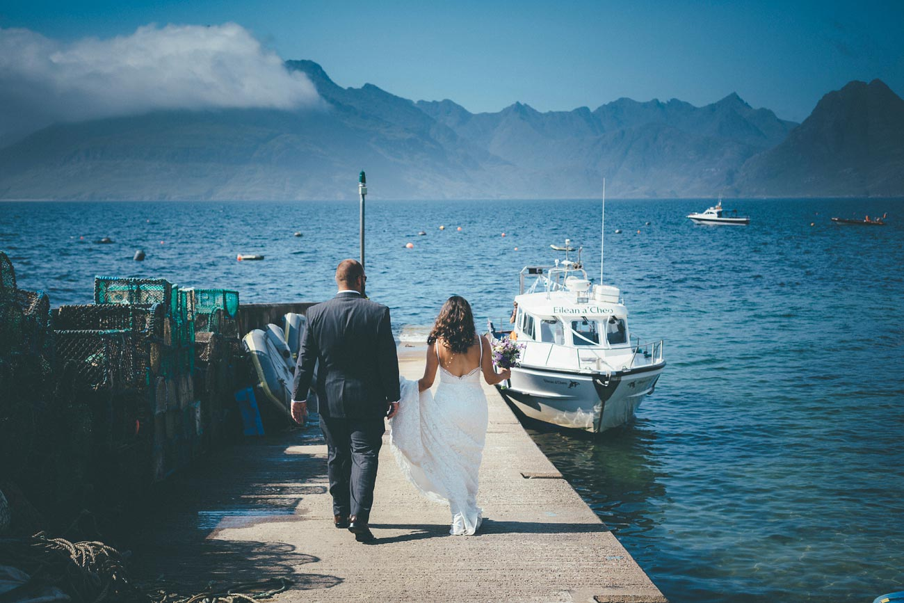 Isle of Skye wedding photography small elopement humanist wedding Loch Coruisk 0020