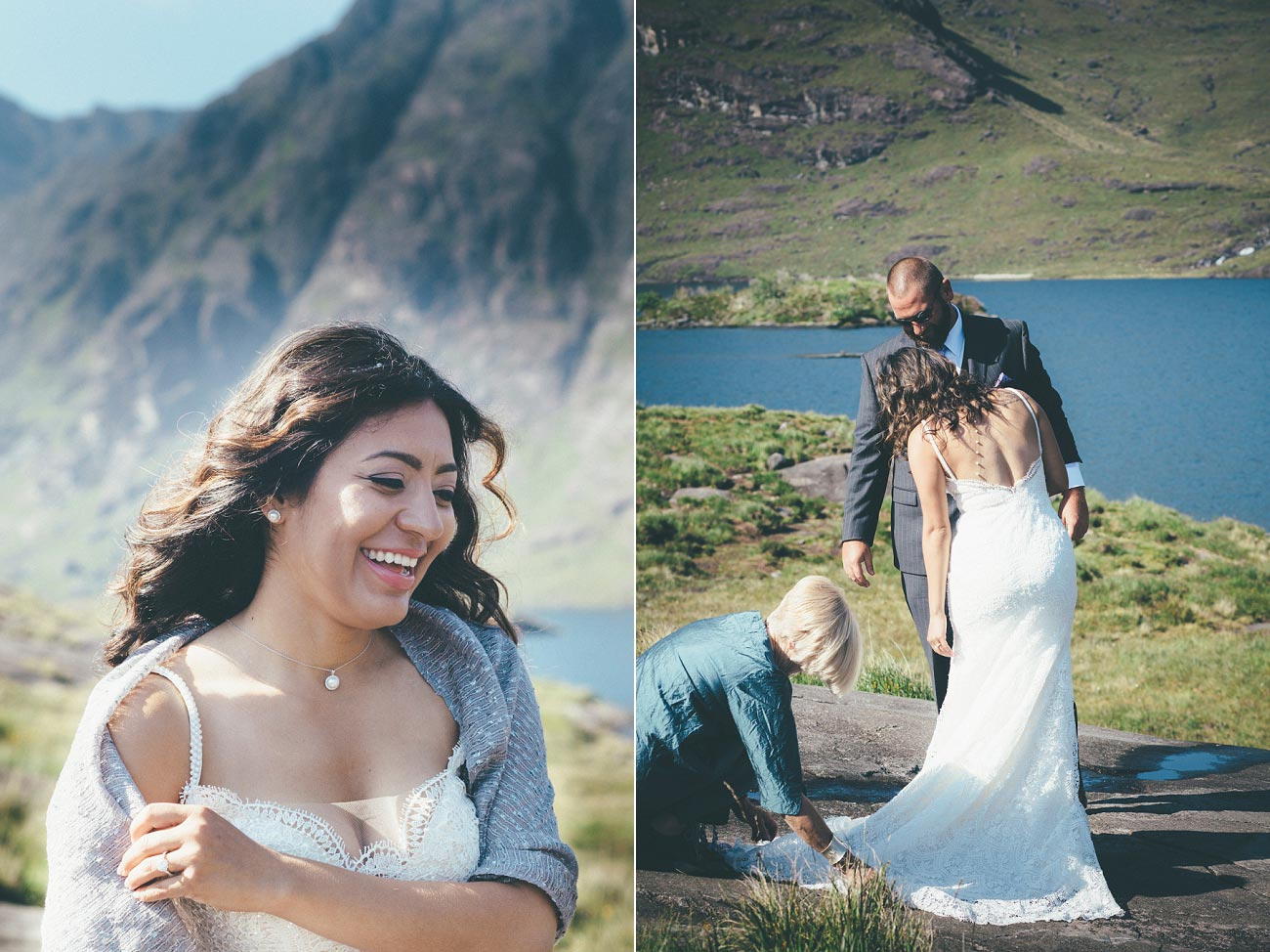 Isle of Skye wedding photography small elopement humanist wedding Loch Coruisk 0032