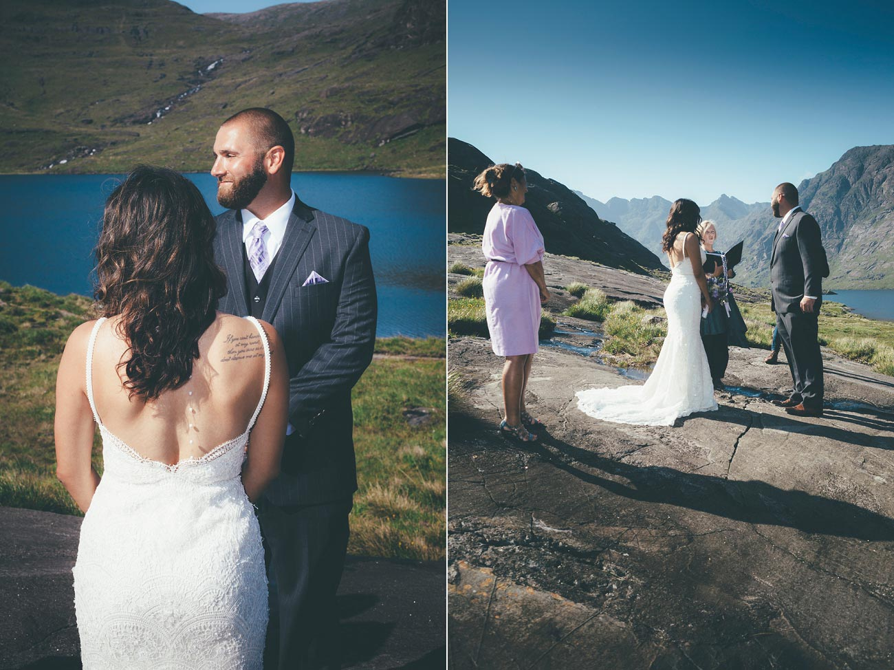 Isle of Skye wedding photography small elopement humanist wedding Loch Coruisk 0034