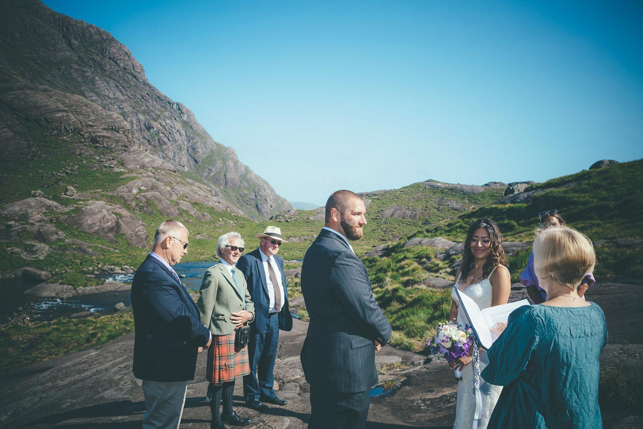 Isle of Skye wedding photography small elopement humanist wedding Loch Coruisk 0035