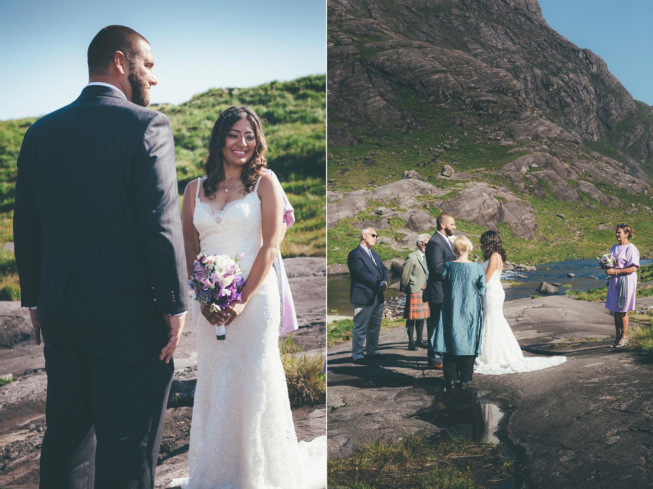Isle of Skye wedding photography small elopement humanist wedding Loch Coruisk 0039
