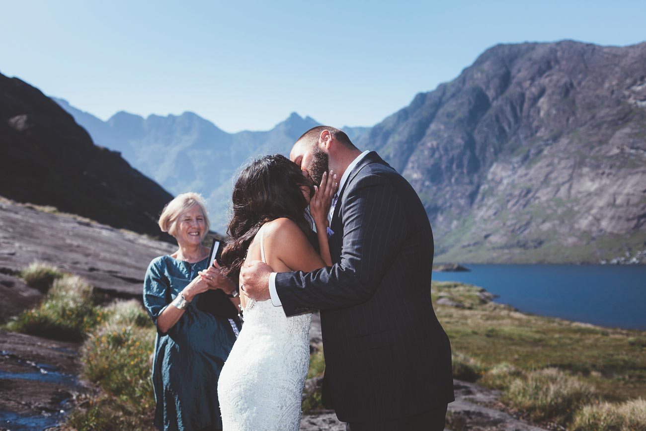 Isle of Skye wedding photography small elopement humanist wedding Loch Coruisk 0043