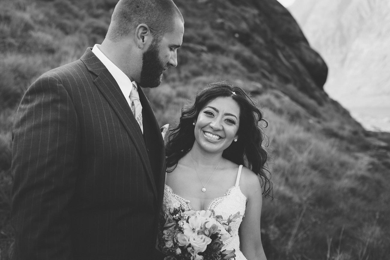 Isle of Skye wedding photography small elopement humanist wedding Loch Coruisk 0046