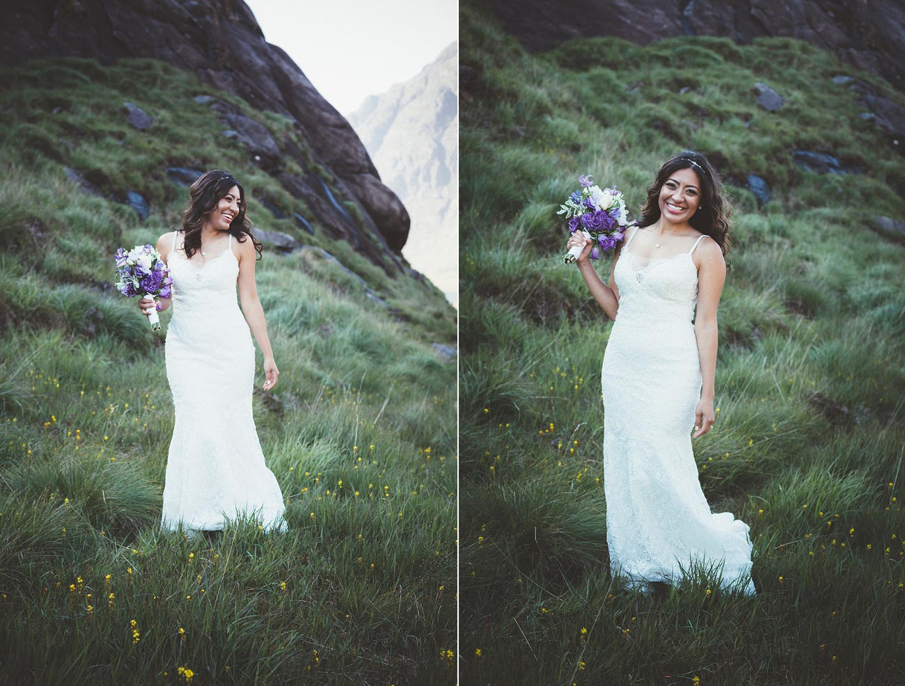 Isle of Skye wedding photography small elopement humanist wedding Loch Coruisk 0047