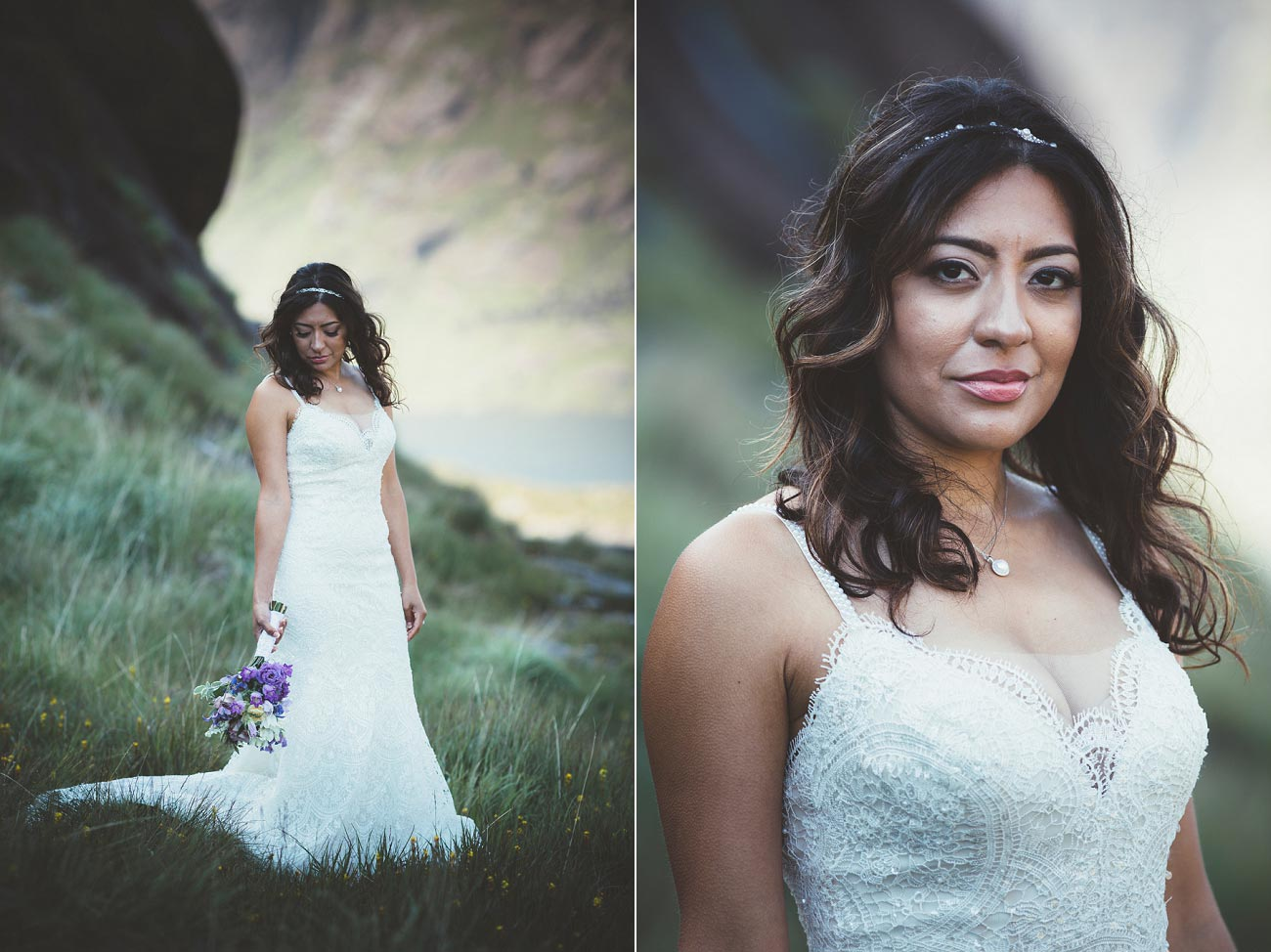 Isle of Skye wedding photography small elopement humanist wedding Loch Coruisk 0049