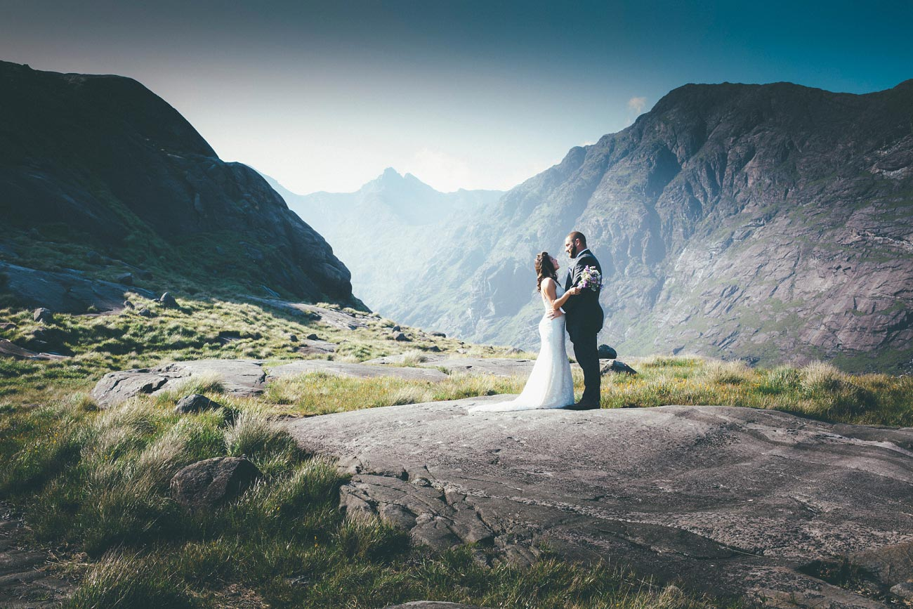 Isle of Skye wedding photography small elopement humanist wedding Loch Coruisk 0054