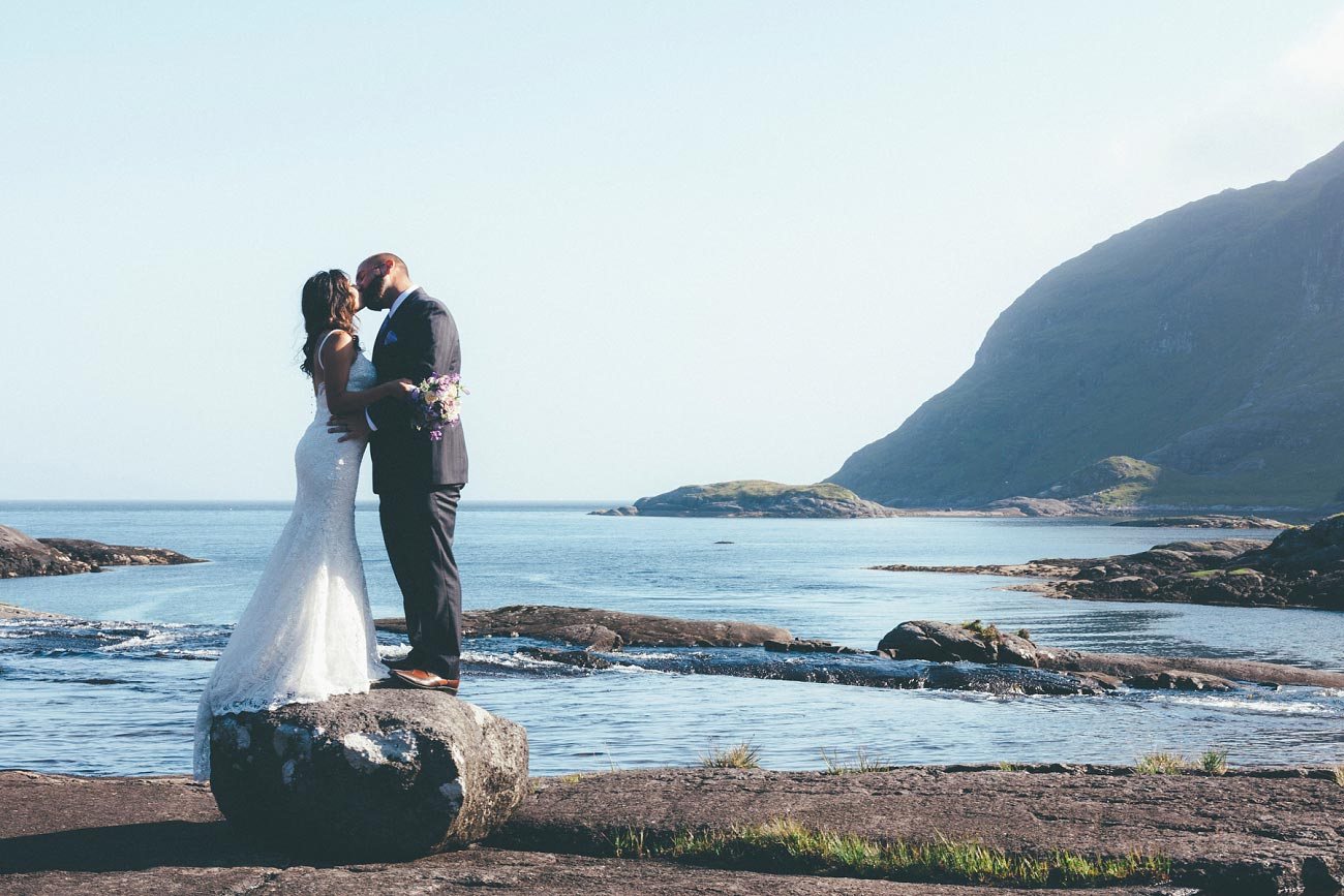 Isle of Skye wedding photography small elopement humanist wedding Loch Coruisk 0056