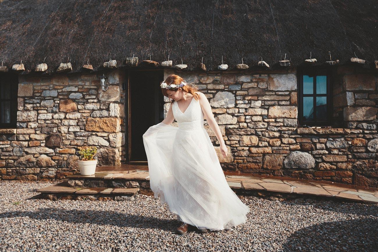 Bride on Isle of Skye