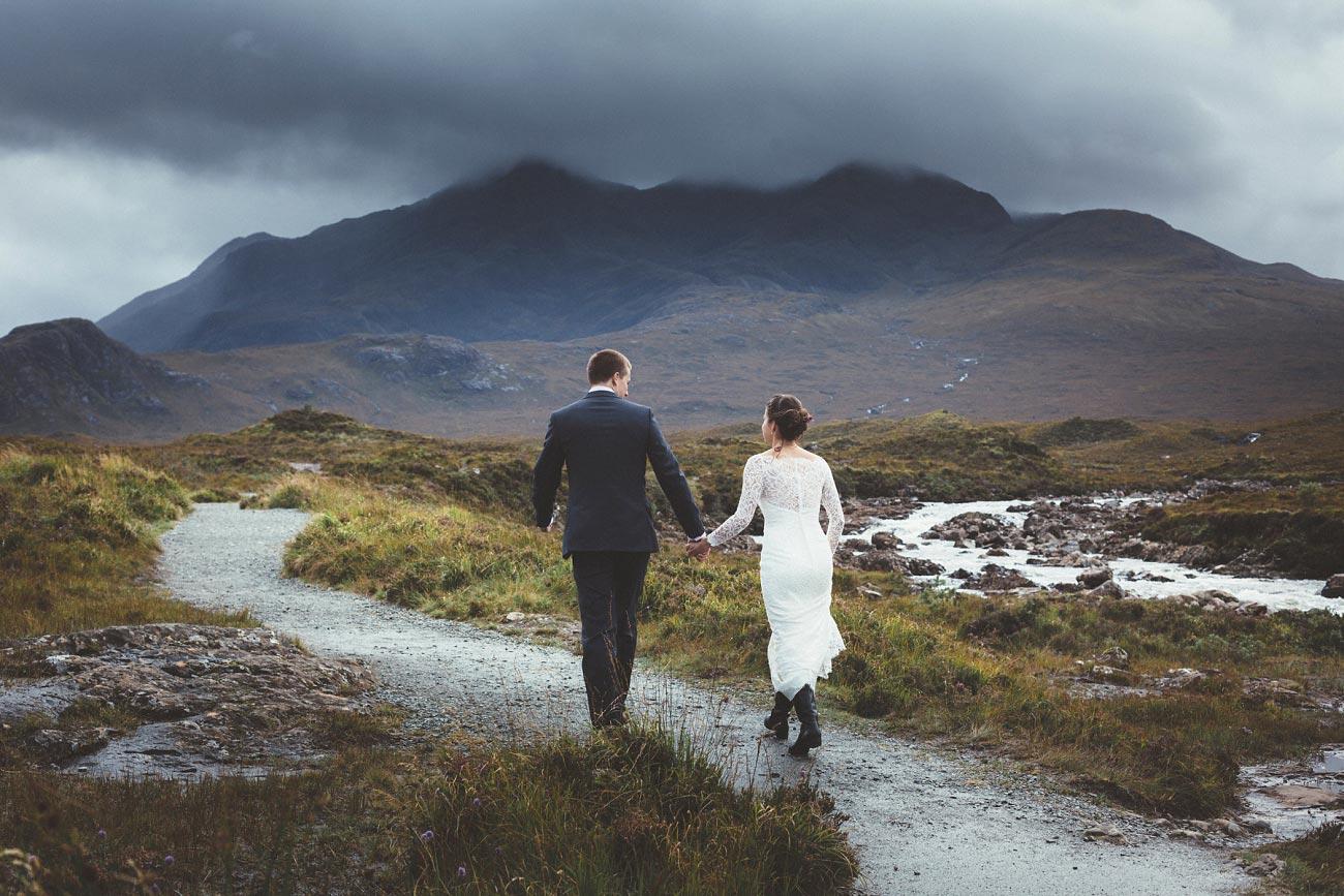 Scottish highlands wedding photography isle of skye Sligachan Hotel 0049
