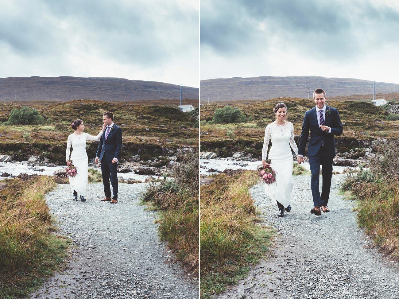 Scottish highlands wedding photography isle of skye Sligachan Hotel 0050