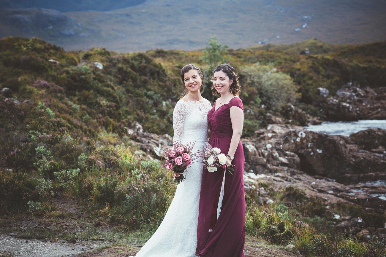 Scottish highlands wedding photography isle of skye Sligachan Hotel 0062