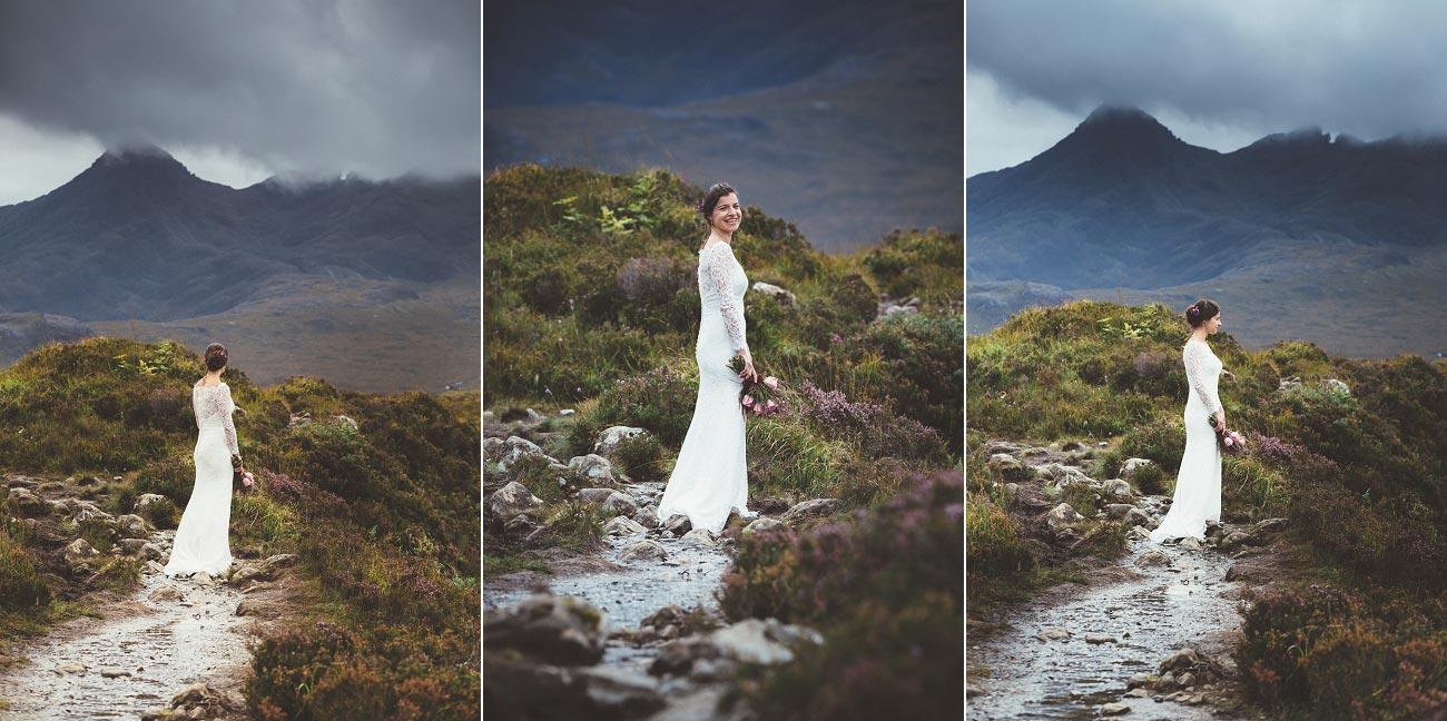 Scottish highlands wedding photography isle of skye Sligachan Hotel 0063