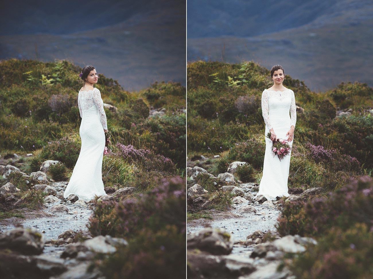 Scottish highlands wedding photography isle of skye Sligachan Hotel 0064
