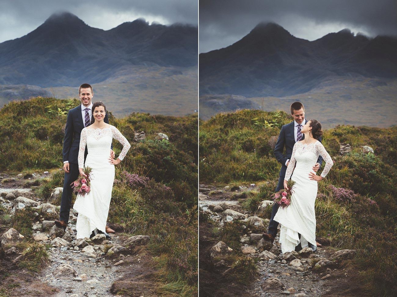 Scottish highlands wedding photography isle of skye Sligachan Hotel 0067