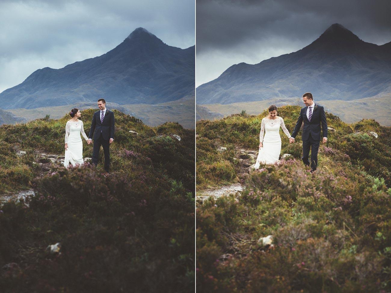 Scottish highlands wedding photography isle of skye Sligachan Hotel 0068
