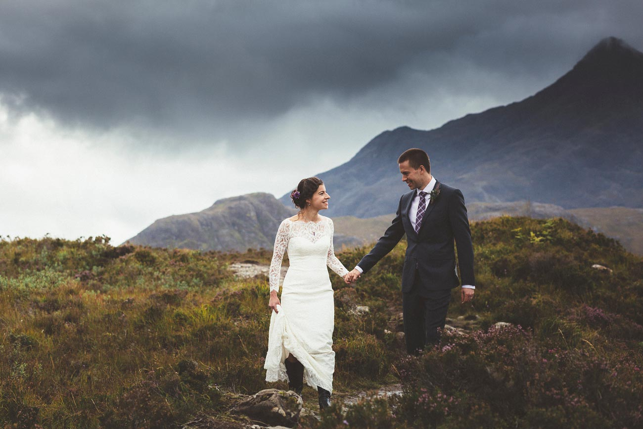 Scottish highlands wedding photography isle of skye Sligachan Hotel 0069