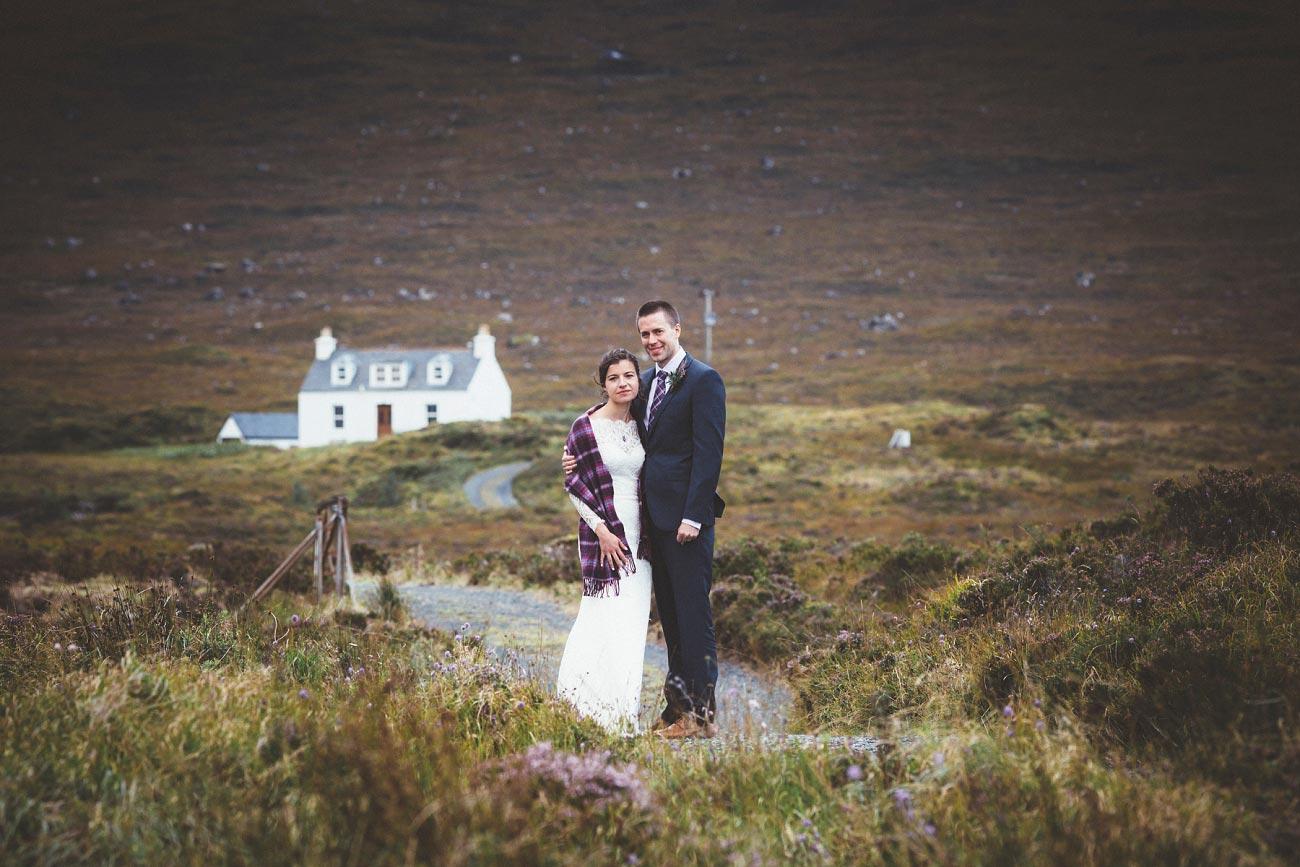 Scottish highlands wedding photography isle of skye Sligachan Hotel 0073