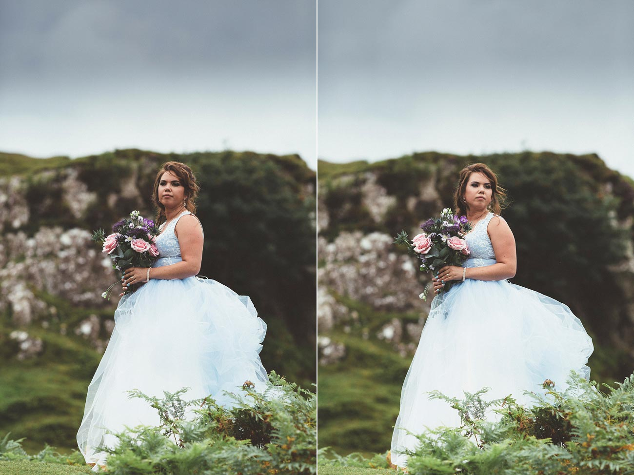 Scottish highlands wedding photography isle of skye the fairy glen quiraing 0001