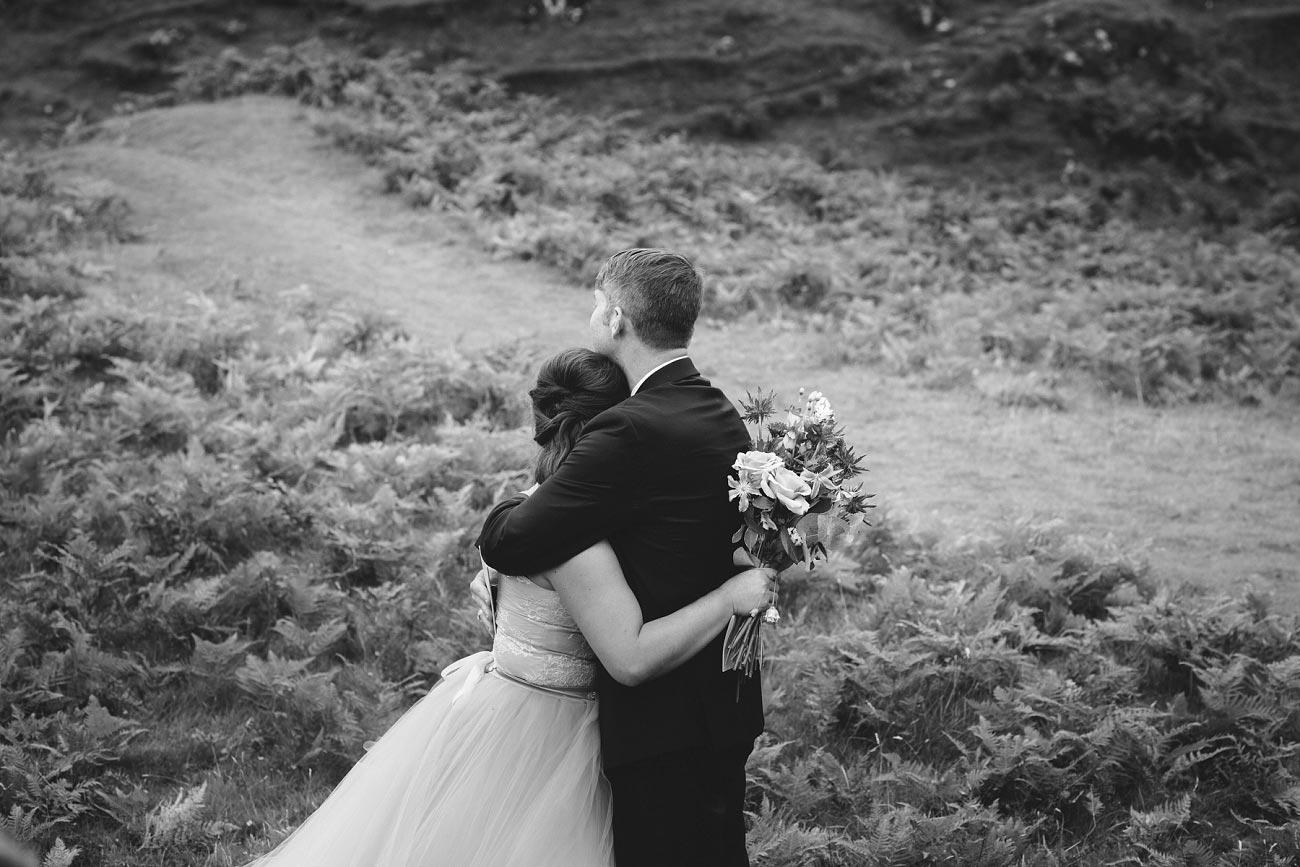 Scottish highlands wedding photography isle of skye the fairy glen quiraing 0007