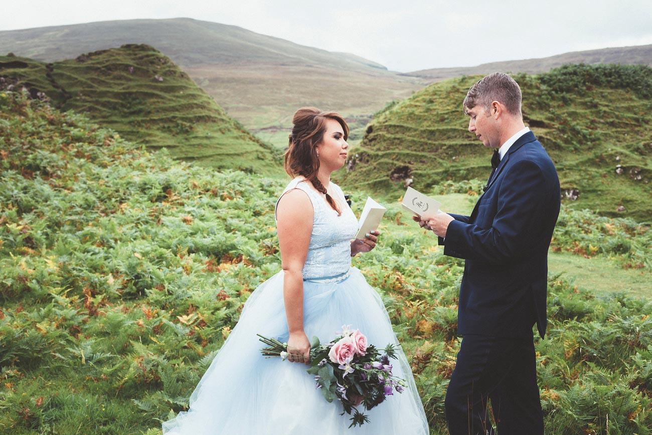 Scottish highlands wedding photography isle of skye the fairy glen quiraing 0008
