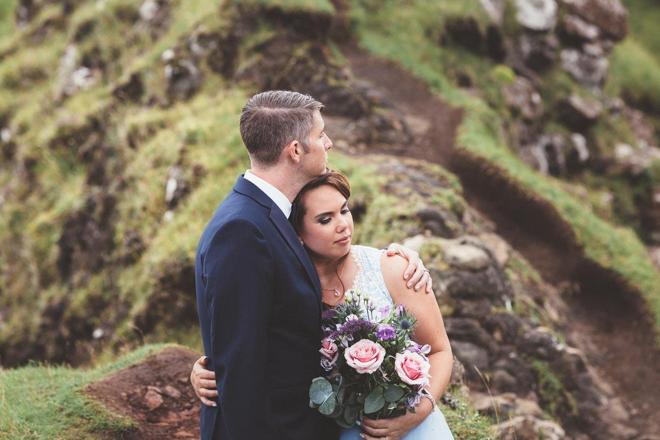 Scottish highlands wedding photography isle of skye the fairy glen quiraing 0014