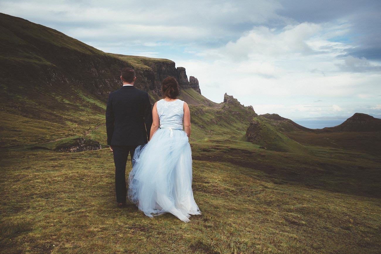 Scottish highlands wedding photography isle of skye the fairy glen quiraing 0028