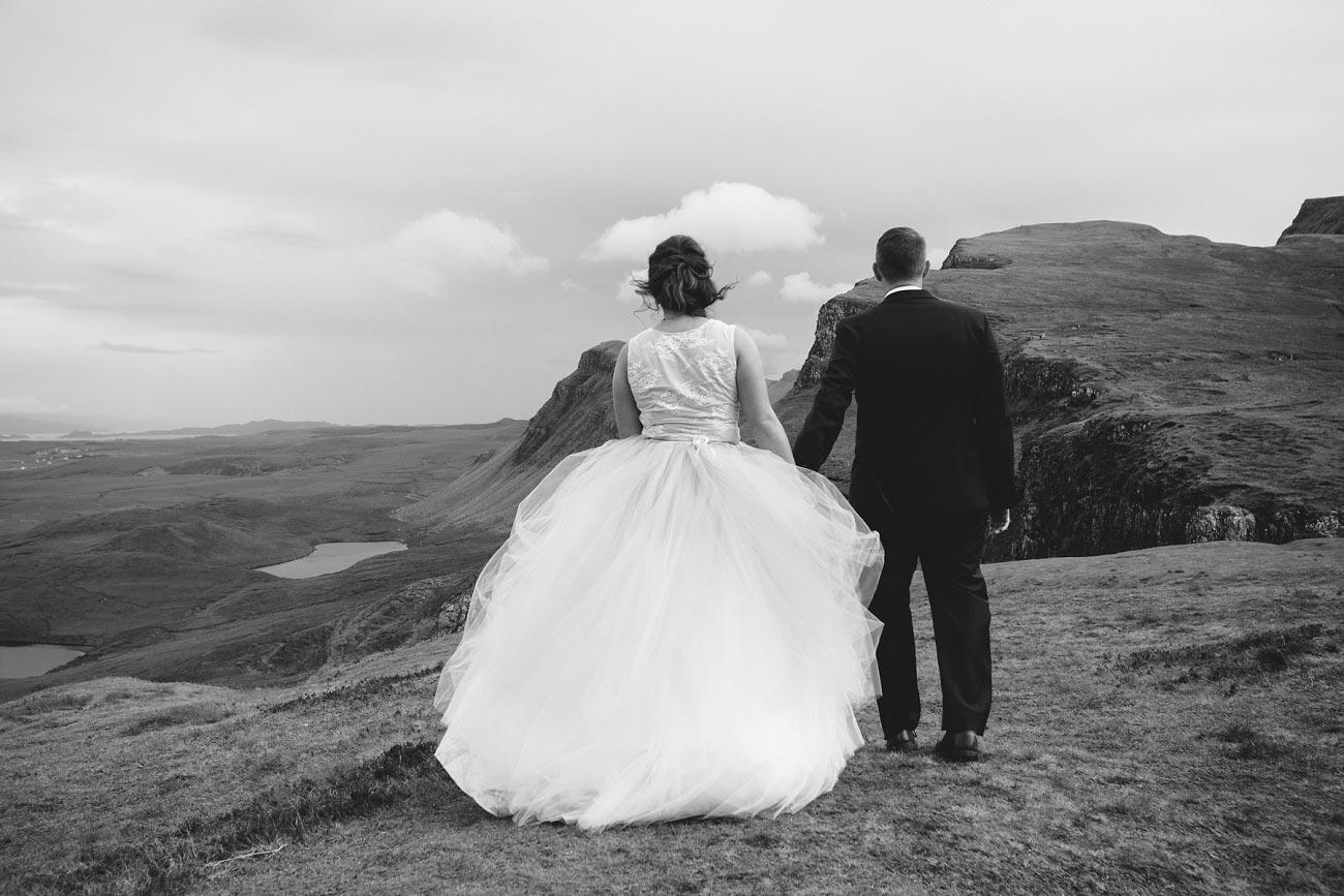 Scottish highlands wedding photography isle of skye the fairy glen quiraing 0030