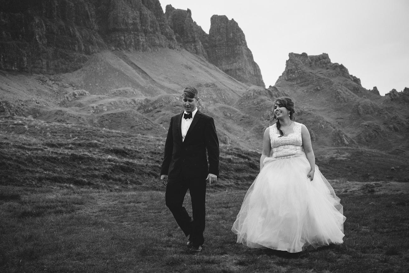 Scottish highlands wedding photography isle of skye the fairy glen quiraing 0032