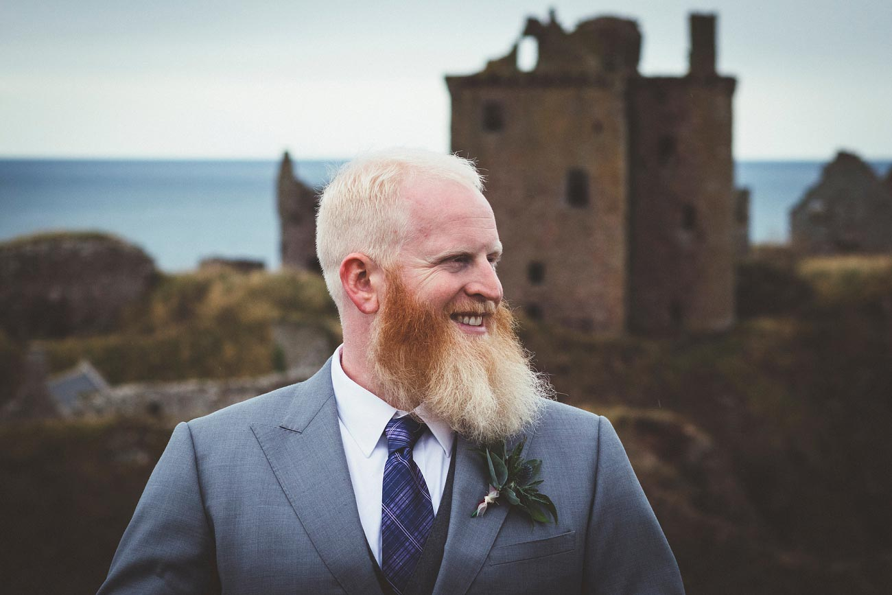 dunnottar castle elopement wedding photographer scotland scottish highlands abderdeenshire aj 0004