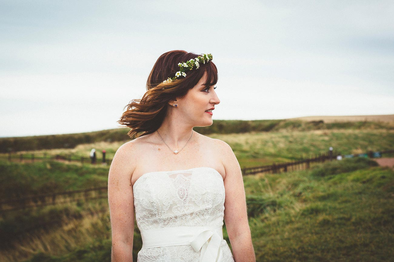 dunnottar castle elopement wedding photographer scotland scottish highlands abderdeenshire aj 0006