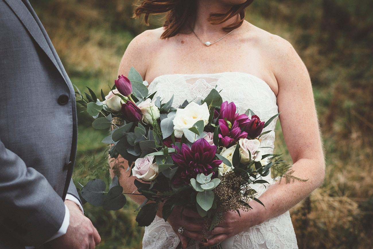dunnottar castle elopement wedding photographer scotland scottish highlands abderdeenshire aj 0012