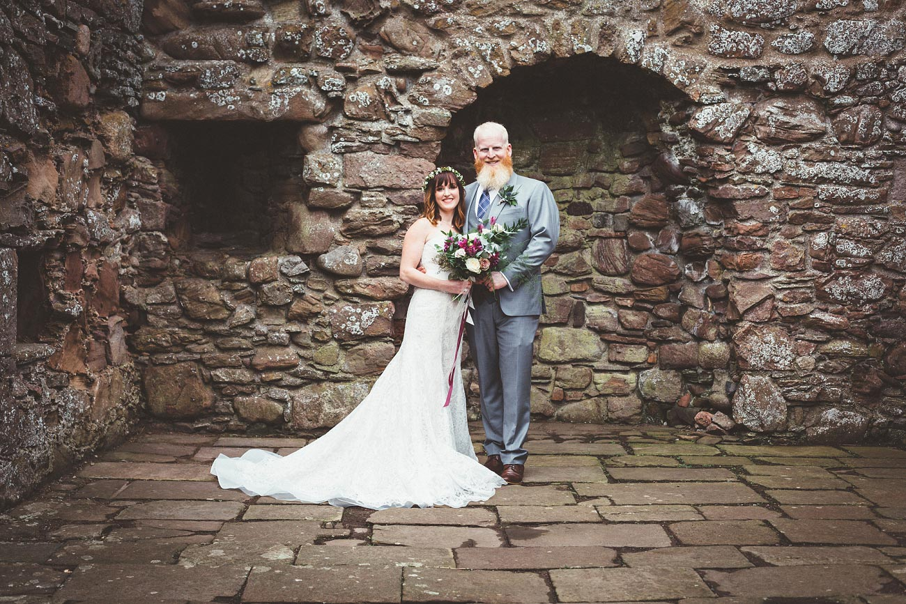 dunnottar castle elopement wedding photographer scotland scottish highlands abderdeenshire aj 0024