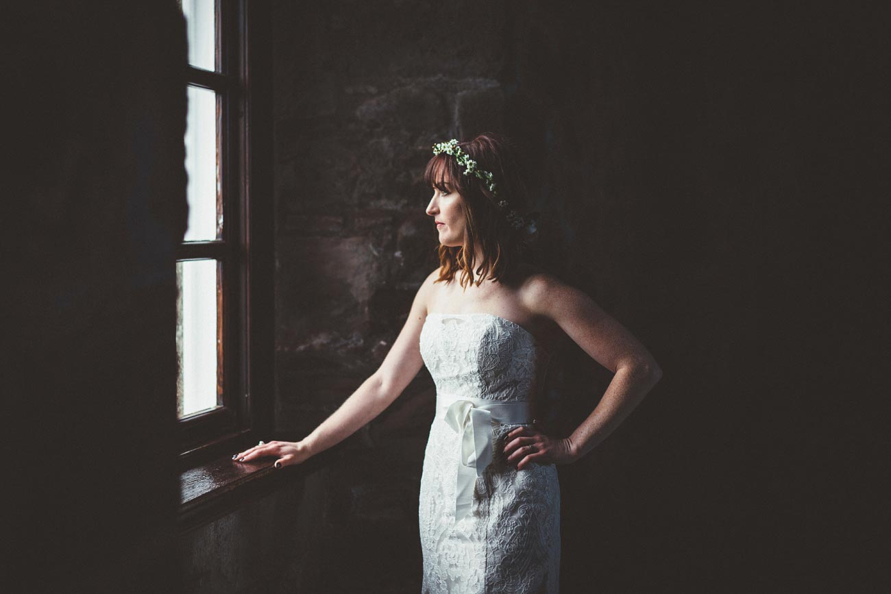 dunnottar castle elopement wedding photographer scotland scottish highlands abderdeenshire aj 0035