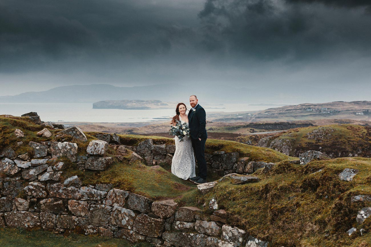 elopement wedding photographer isle of skye scottish highlands scotland 0027