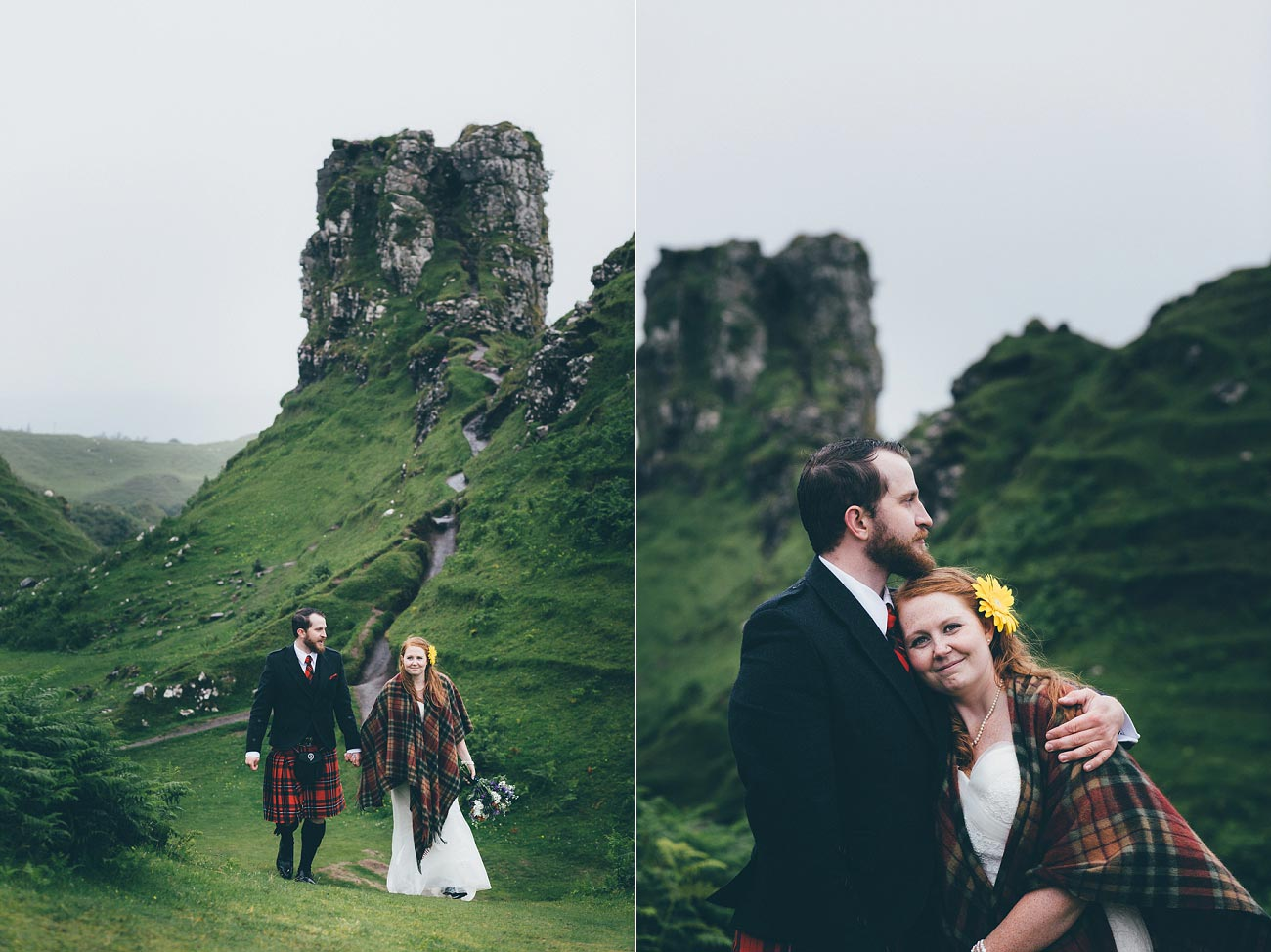elopement wedding photography fairy glen isle of skye scotland 0030