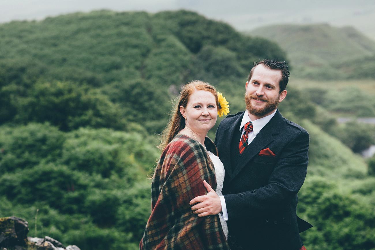 elopement wedding photography fairy glen isle of skye scotland 0035