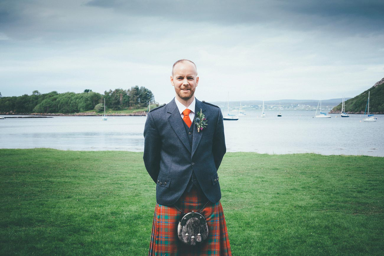 gairloch wedding photography elopement red point beach outdoor weddings scottish highlands 0010