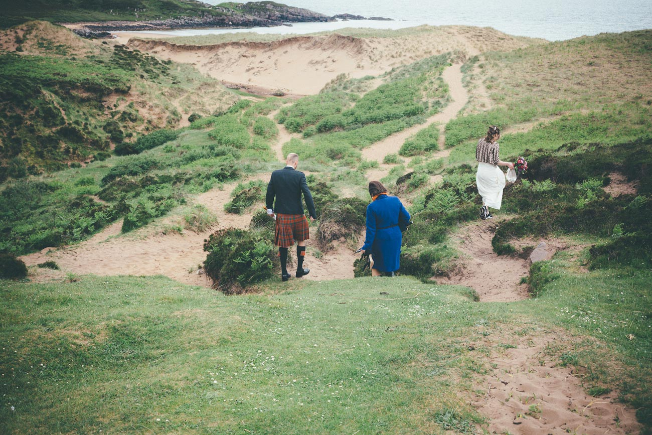 gairloch wedding photography elopement red point beach outdoor weddings scottish highlands 0017