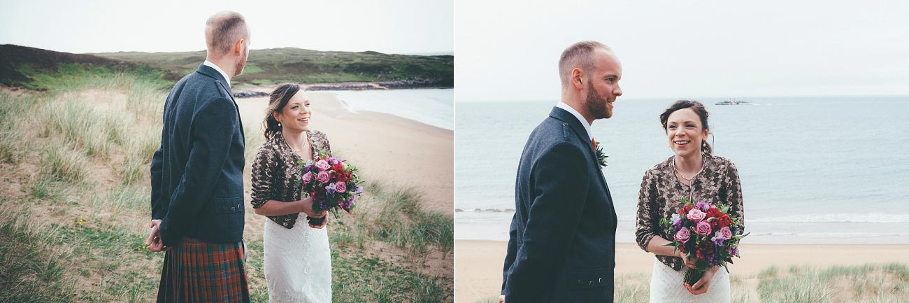 gairloch wedding photography elopement red point beach outdoor weddings scottish highlands 0019