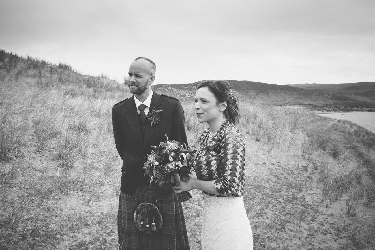 gairloch wedding photography elopement red point beach outdoor weddings scottish highlands 0023