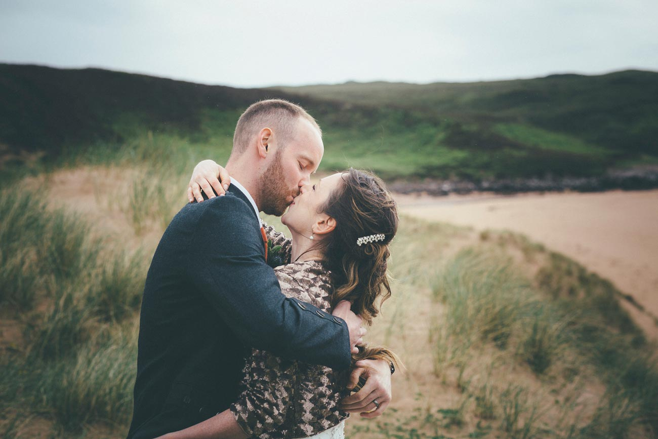 gairloch wedding photography elopement red point beach outdoor weddings scottish highlands 0028