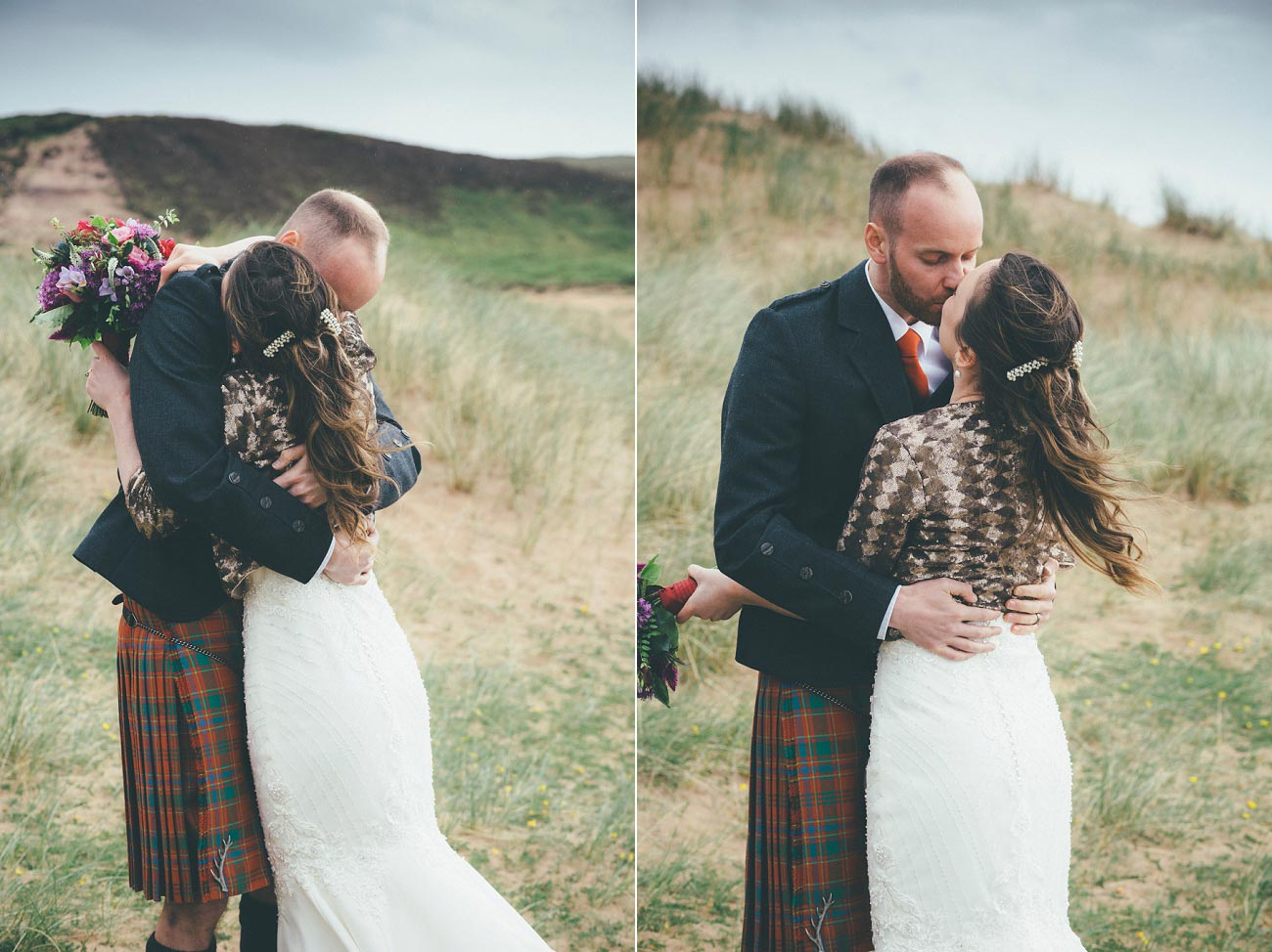 gairloch wedding photography elopement red point beach outdoor weddings scottish highlands 0029