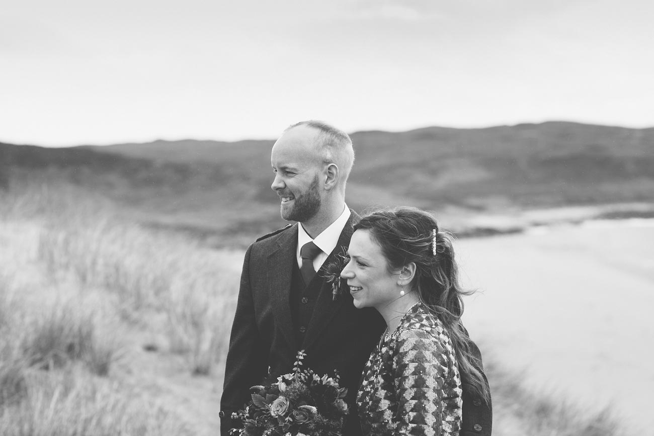 gairloch wedding photography elopement red point beach outdoor weddings scottish highlands 0031