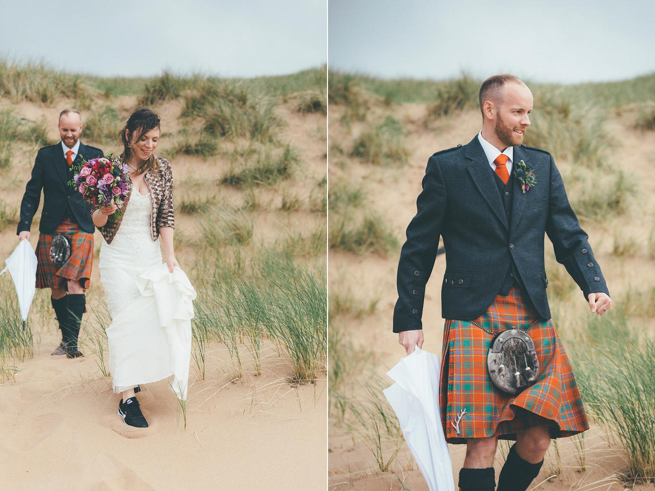 gairloch wedding photography elopement red point beach outdoor weddings scottish highlands 0033