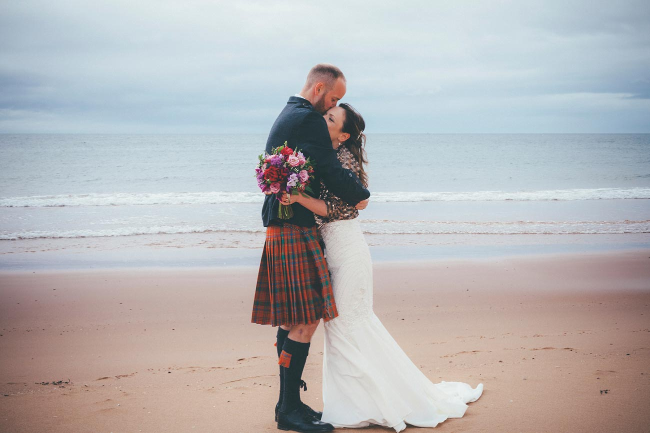gairloch wedding photography elopement red point beach outdoor weddings scottish highlands 0037