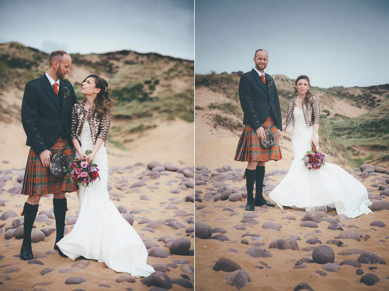 gairloch wedding photography elopement red point beach outdoor weddings scottish highlands 0040