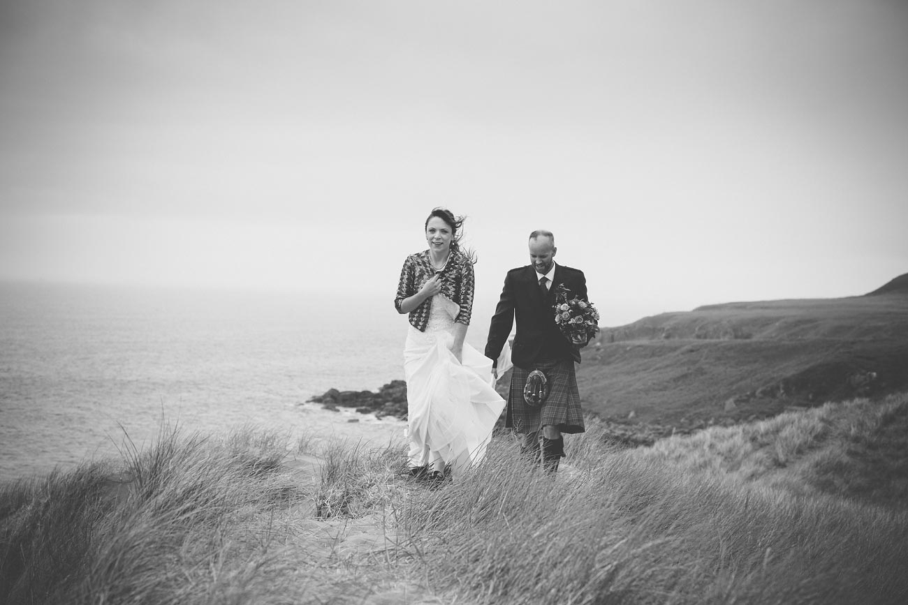 gairloch wedding photography elopement red point beach outdoor weddings scottish highlands 0043