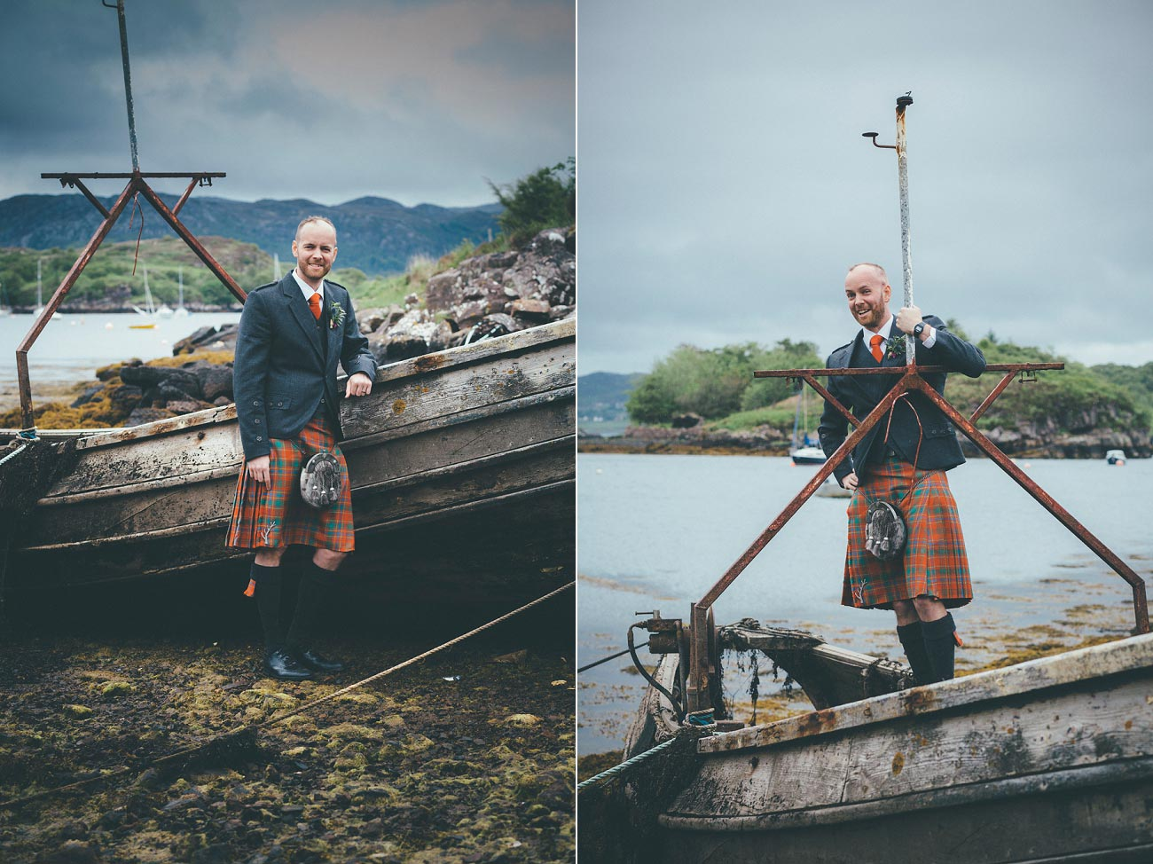 gairloch wedding photography elopement red point beach outdoor weddings scottish highlands 0044