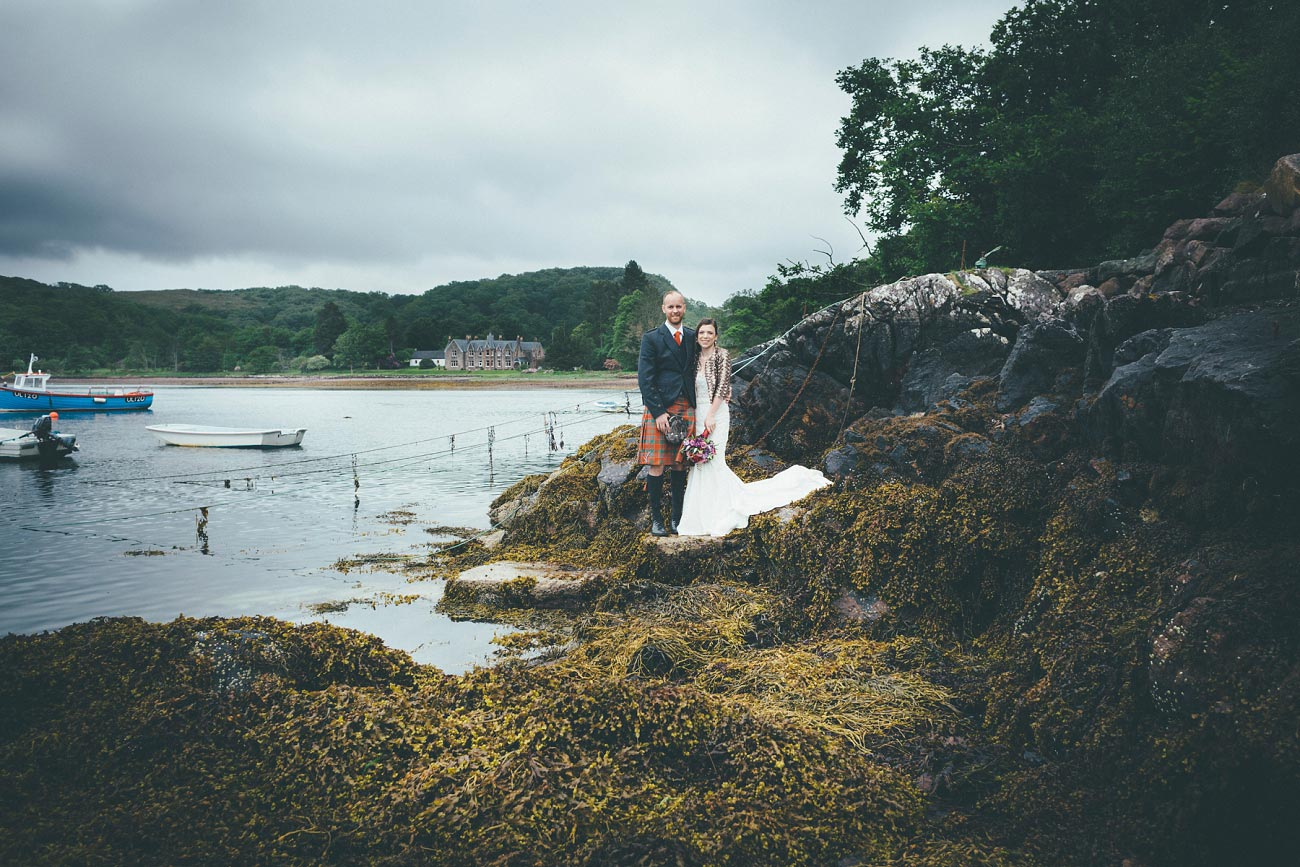 gairloch wedding photography elopement red point beach outdoor weddings scottish highlands 0045