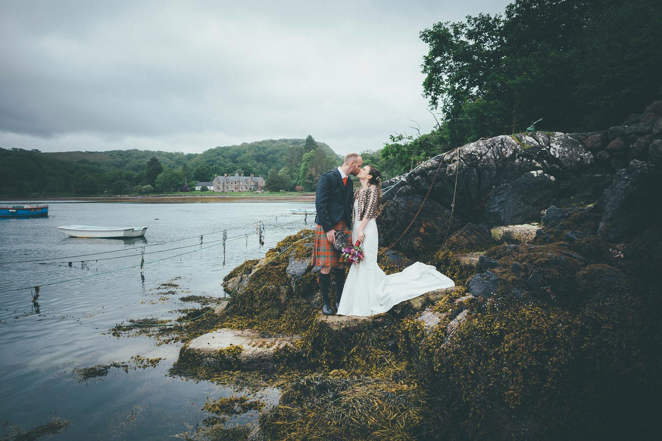 gairloch wedding photography elopement red point beach outdoor weddings scottish highlands 0046